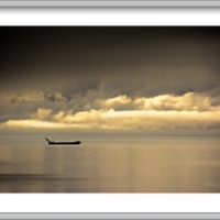 Low Clouds Over Kachemak Bay